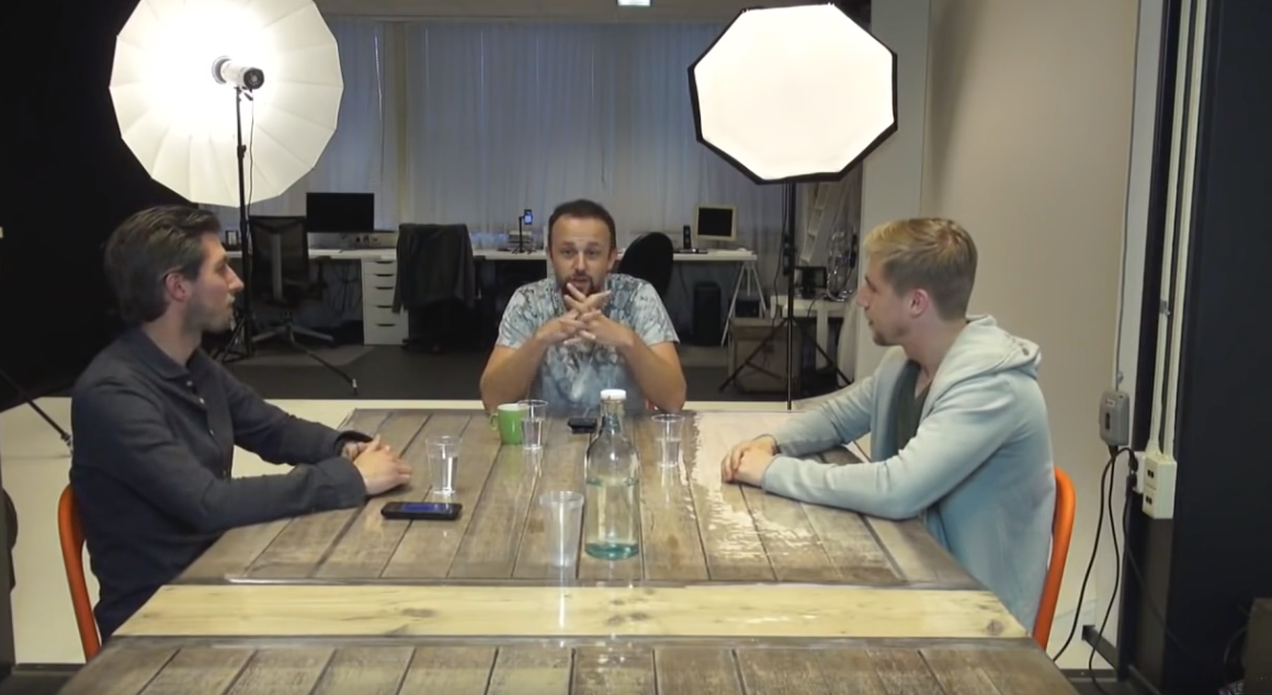 Screenshot of Cafe Obscura livestream