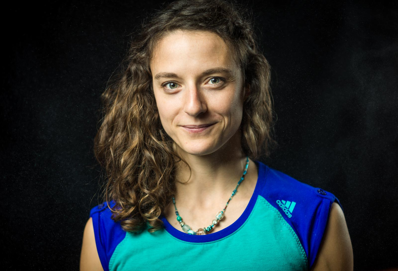 Portrait of French climber Mélissa Le Nevé