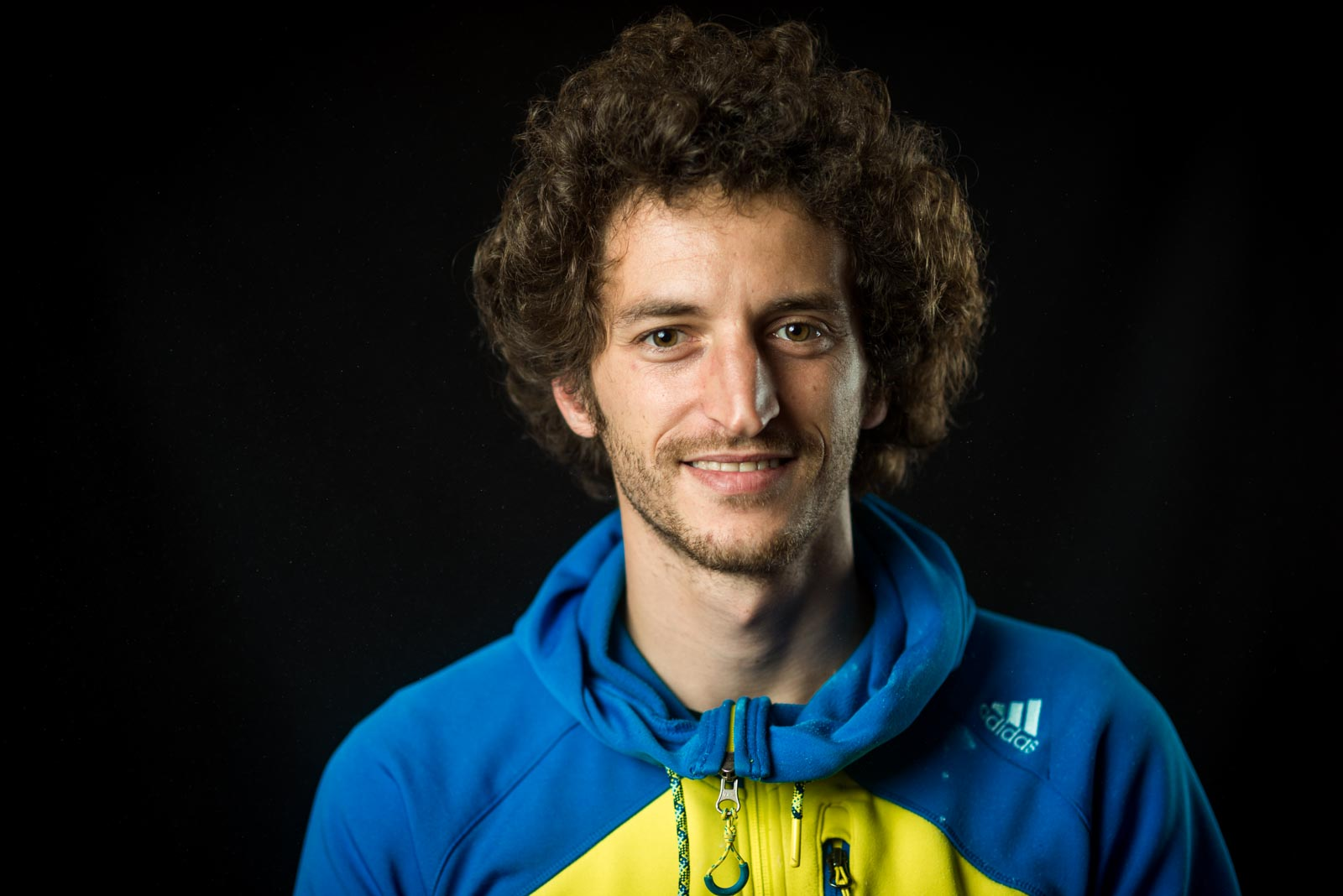 Portrait of French climber Guillaume Glairon Mondet