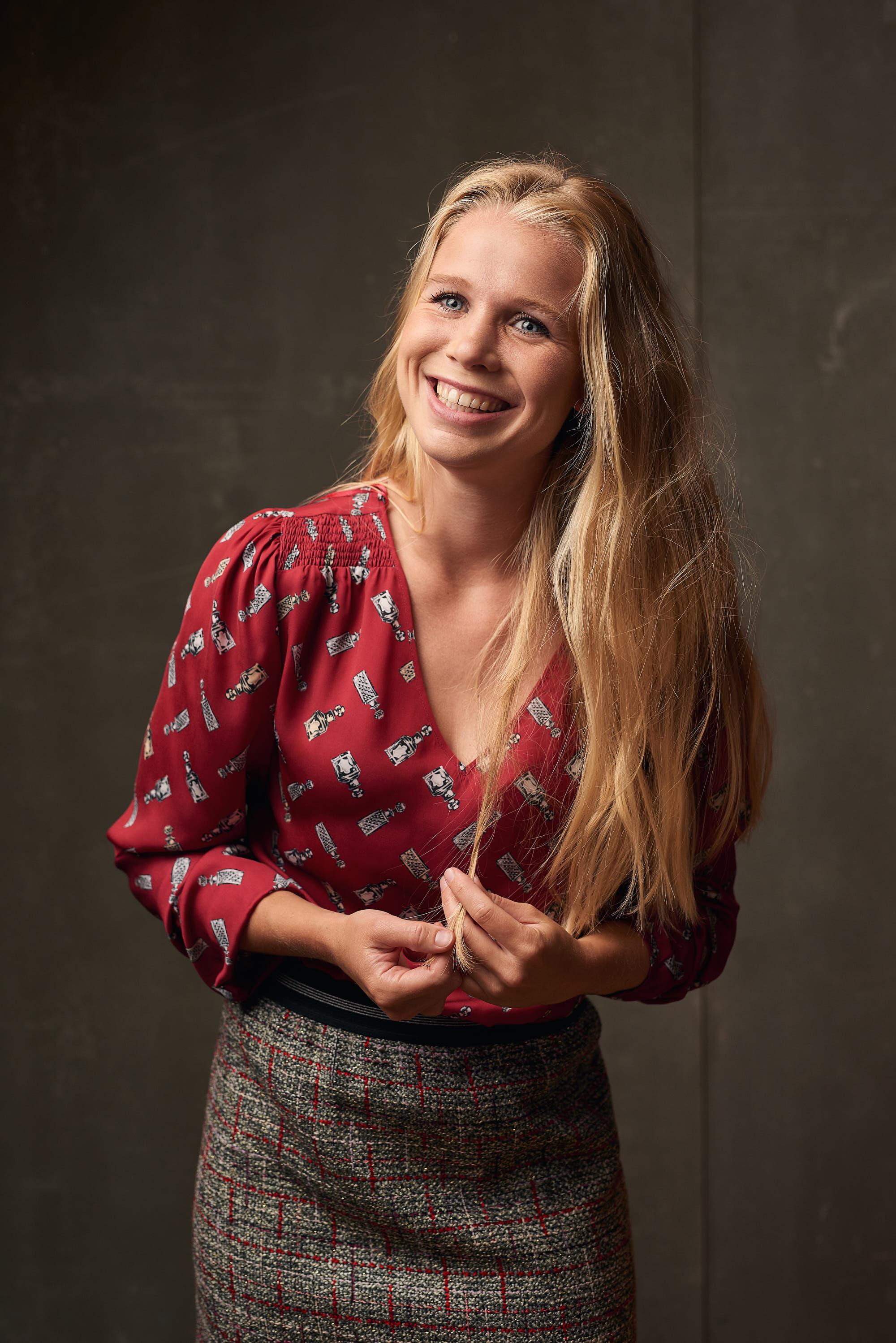 Portrait of Kika van Es for Expresso fashion
