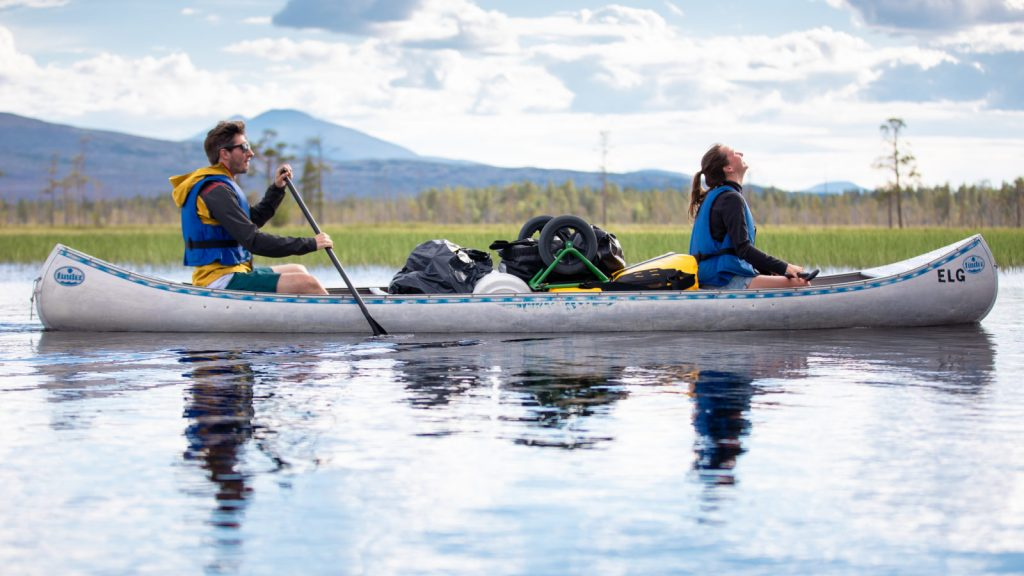 Behind the scenes on a Norway canoe trip