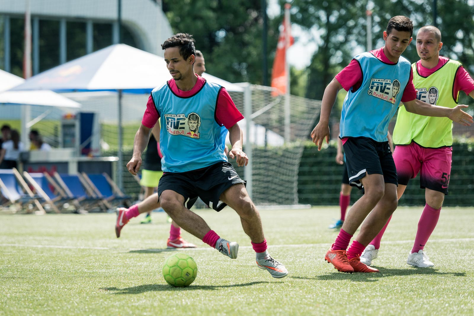 Action during Red Bull Neymar Jr's Five football tournament