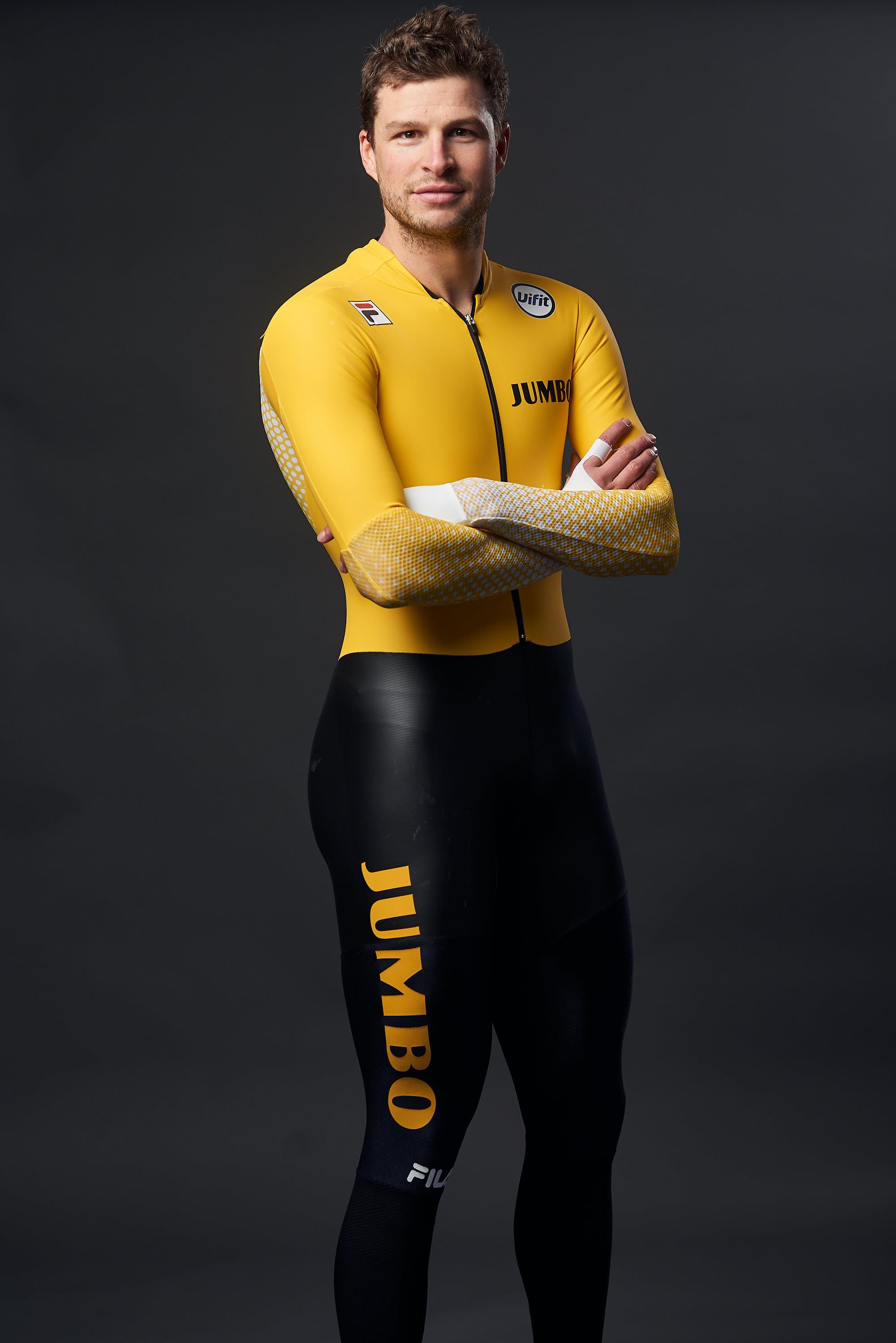 Portrait of Team Jumbo-Visma Ice skater Sven Kramer