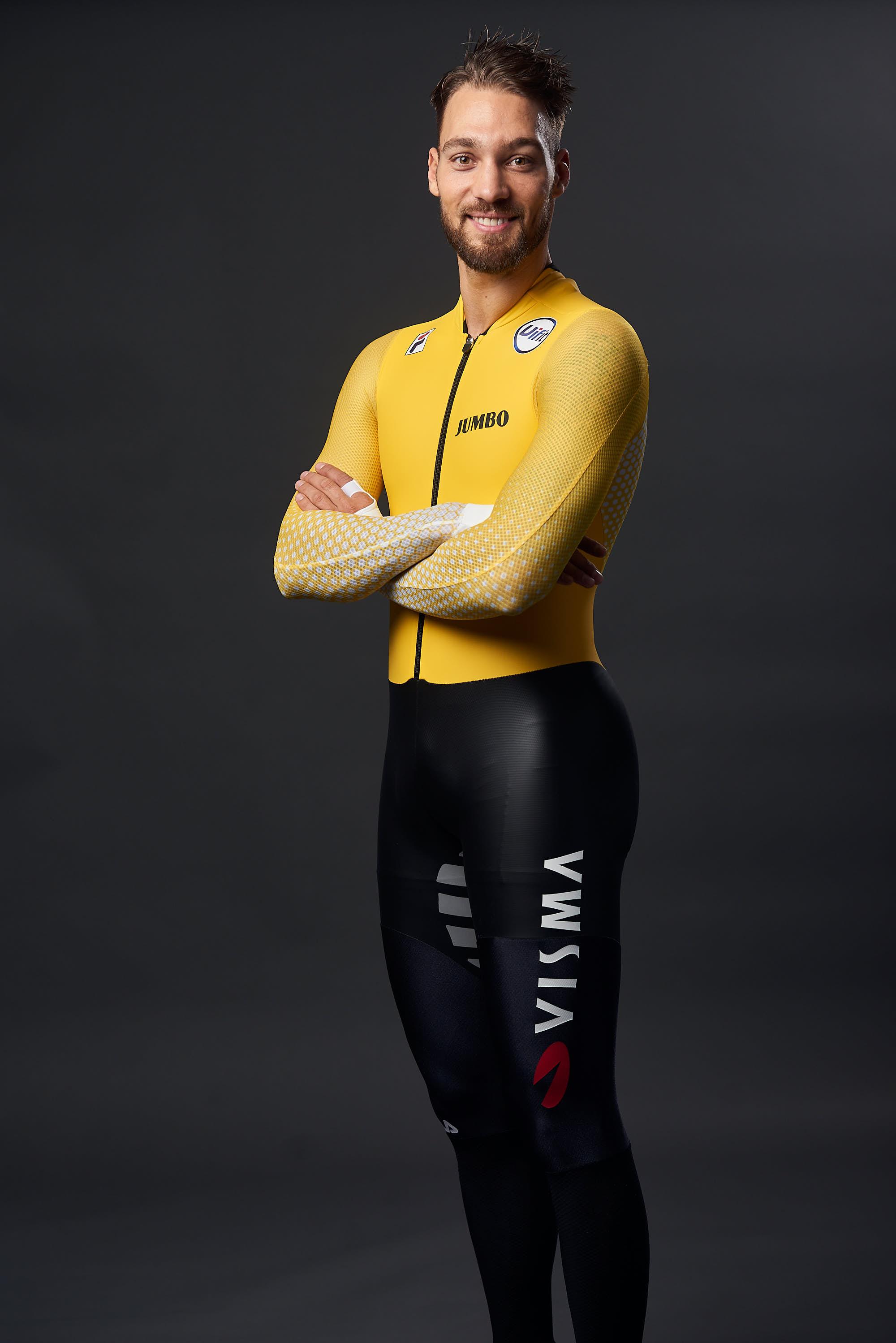 Portrait of Team Jumbo-Visma Ice skater Kjeld Nuis