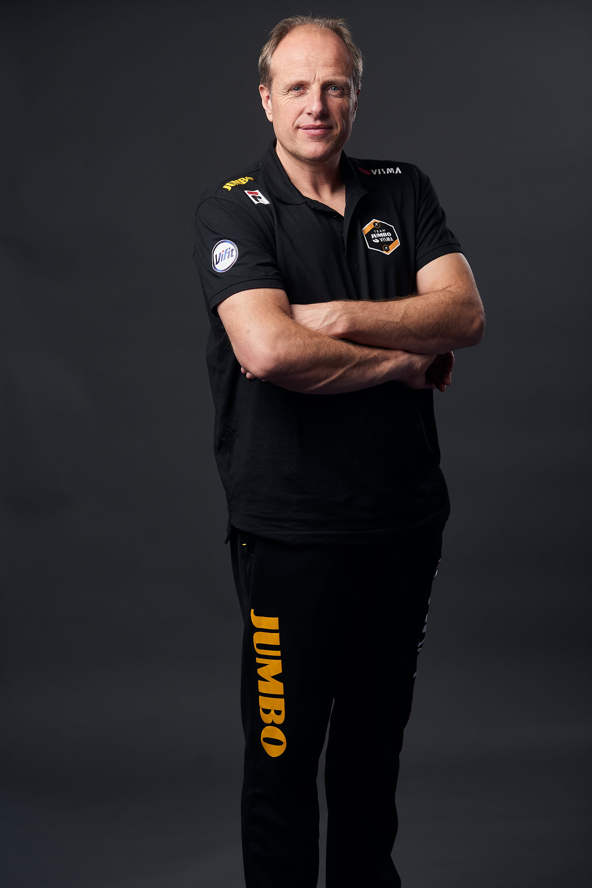 Portrait of Team Jumbo-Visma Ice coach Jac Orie