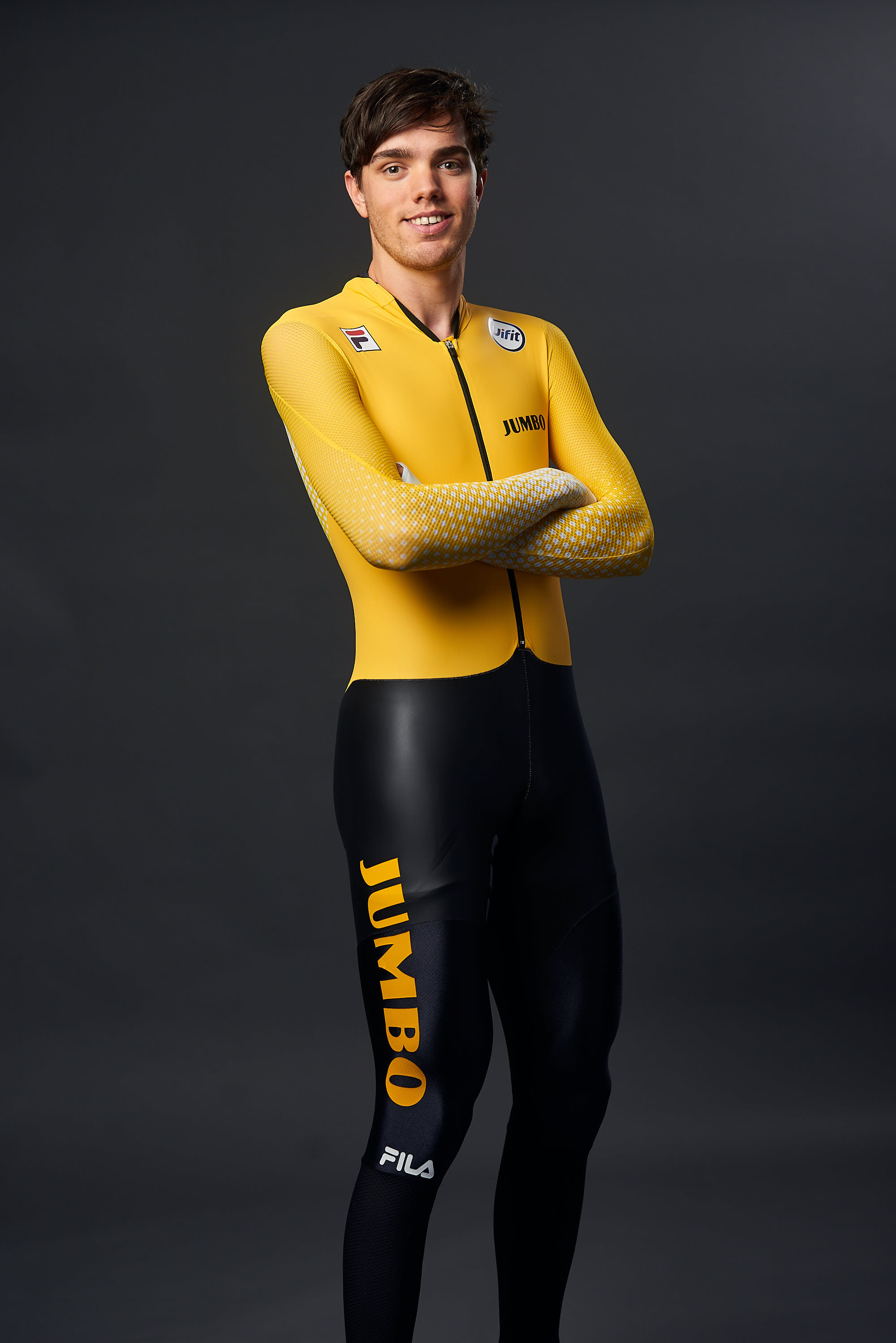 Portrait of Team Jumbo-Visma Ice skater Patrick Roest