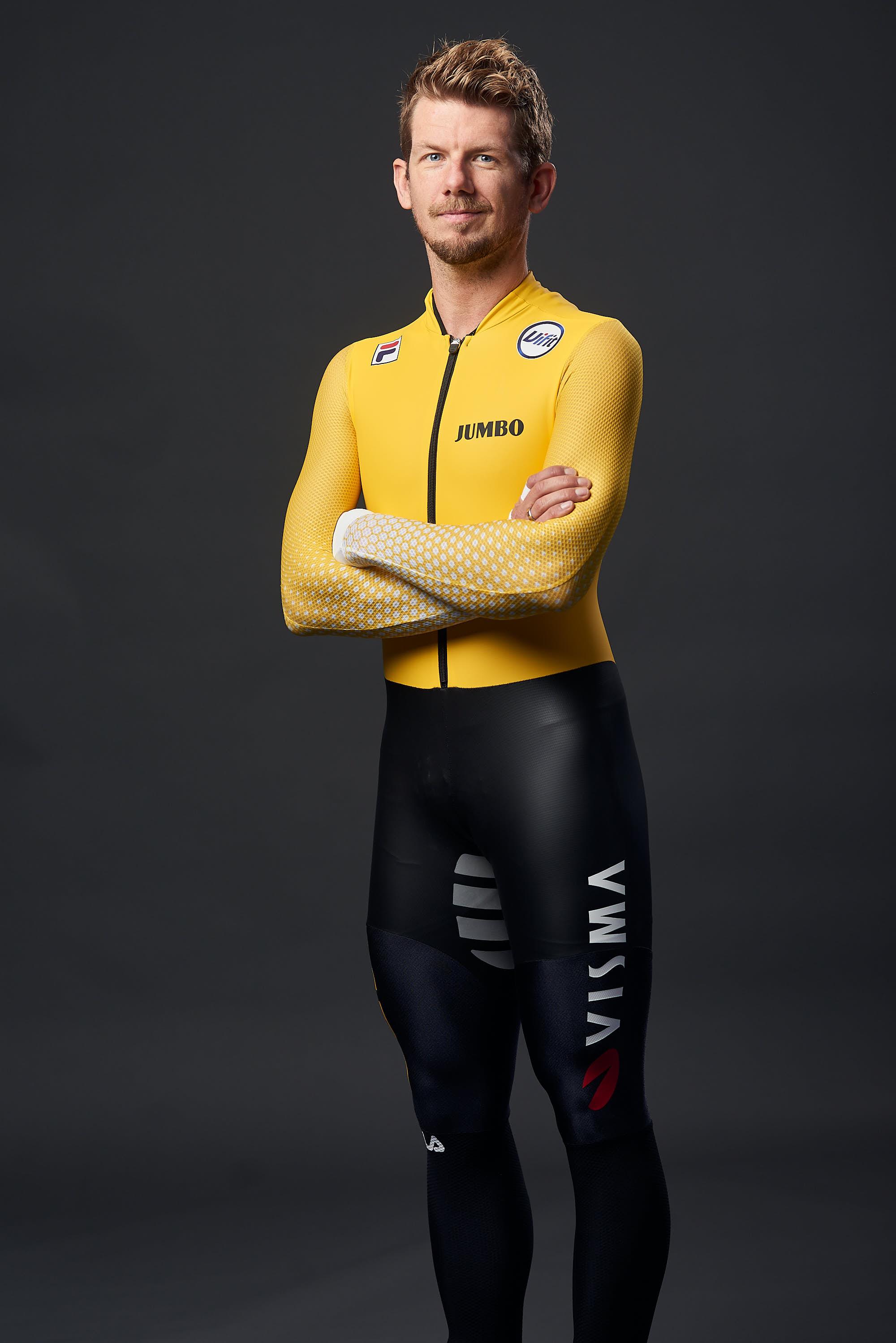 Portrait of Jumbo-Visma Ice's Douwe de Vries