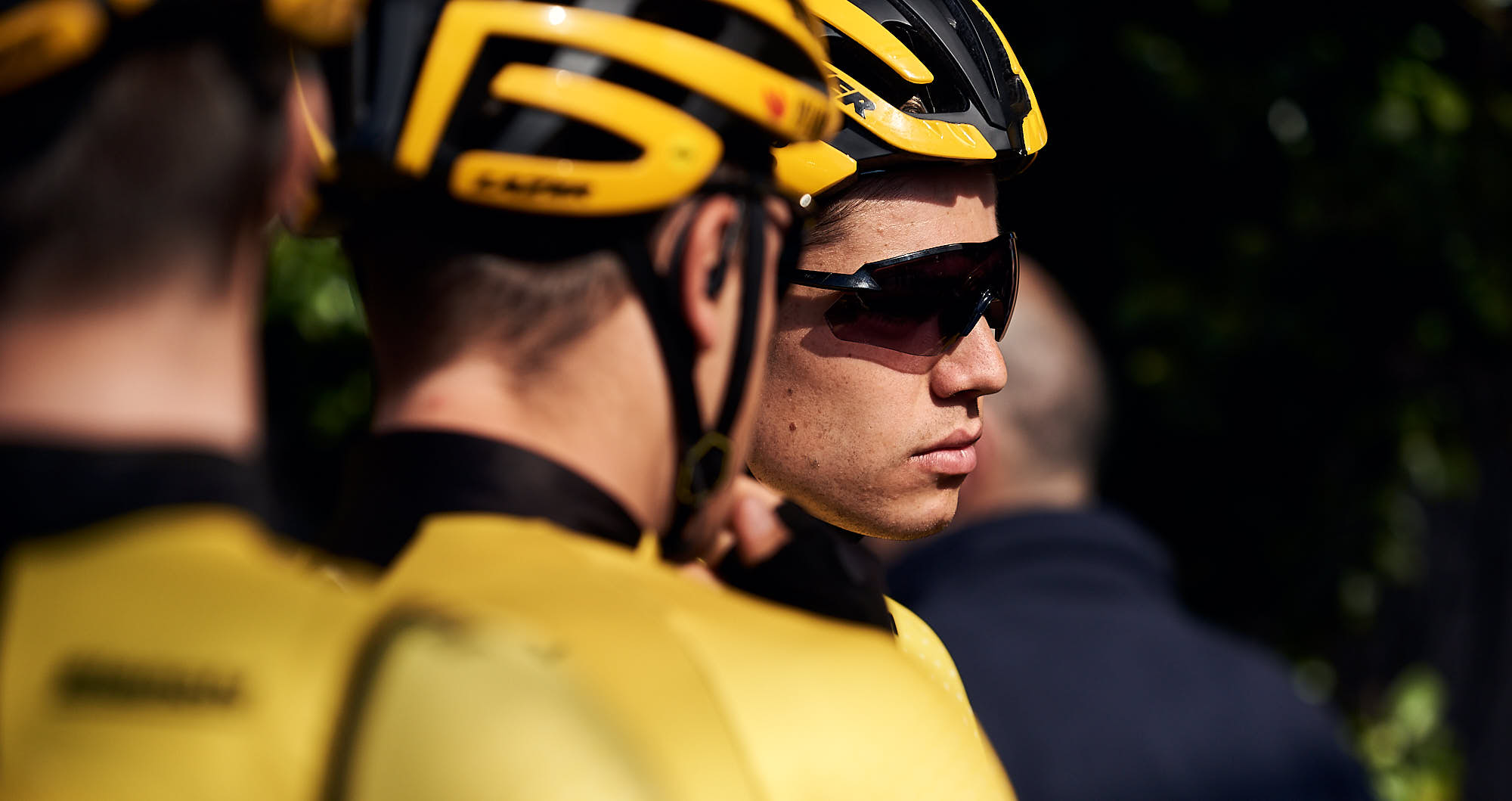 Jumbo-Visma rider Wout van Aert just before Strade Bianche