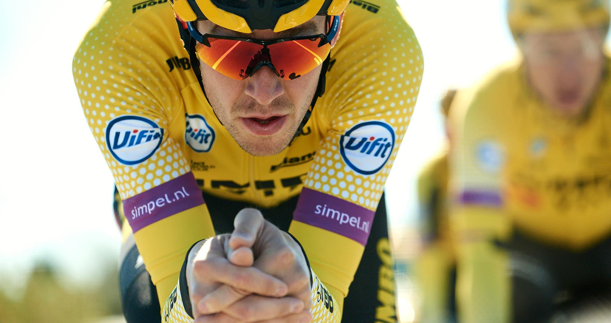 Laurens de Plus from Belgium during time trial