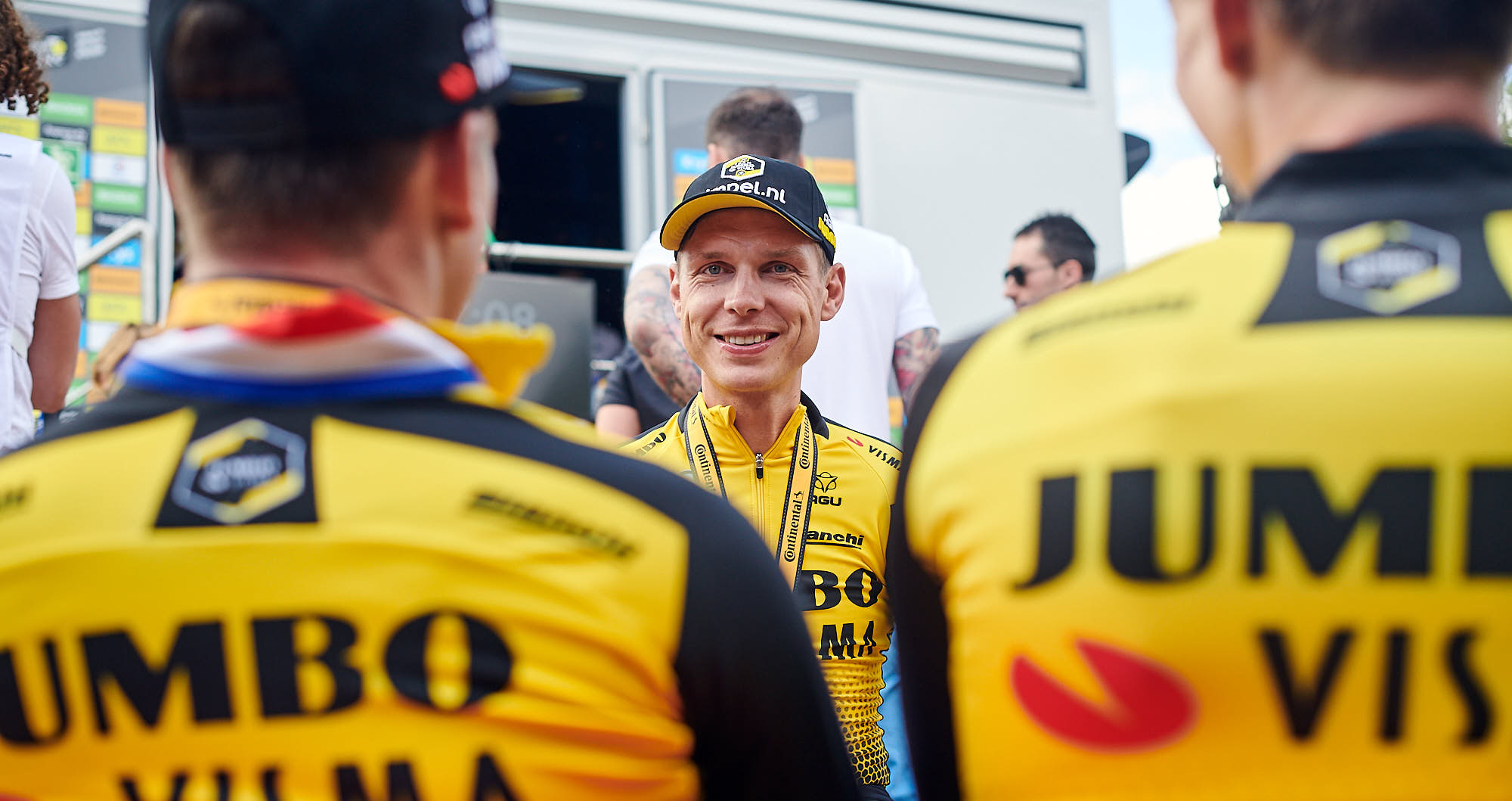 German cyclist Tony Martin after the team time trial during the 2019 Tour de France