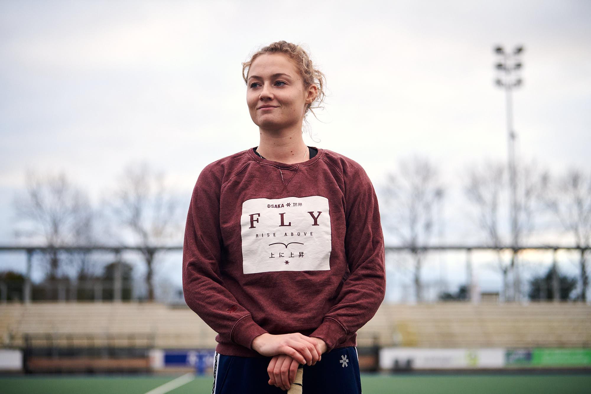 Dutch hockey player Marijn Veen