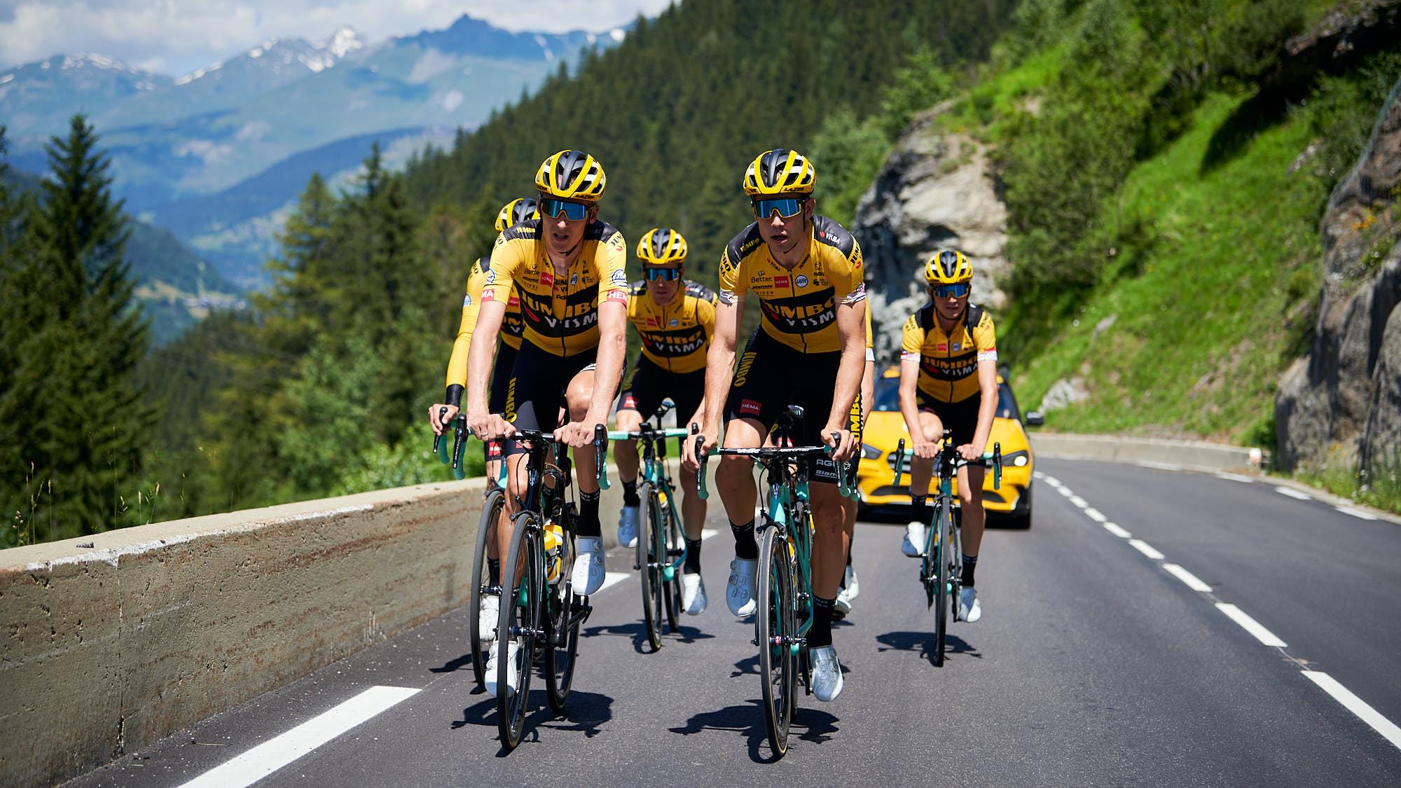 Team Jumbo-Visma's Tour de France selection